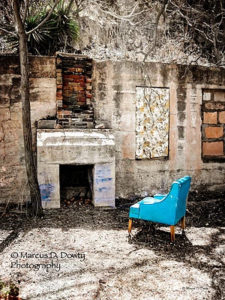 Blue Chair Marcus Dowty