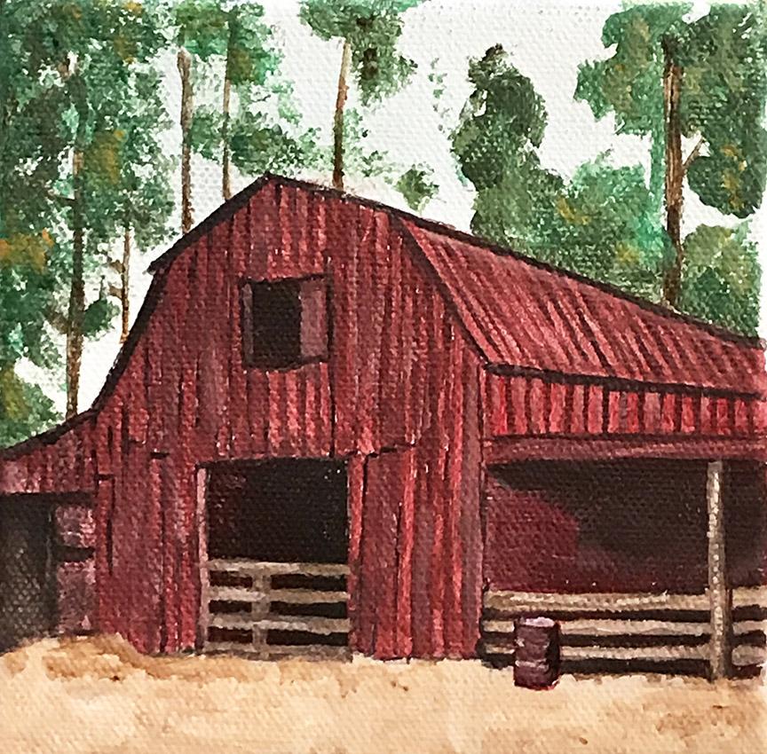 Red Barn Iowa
