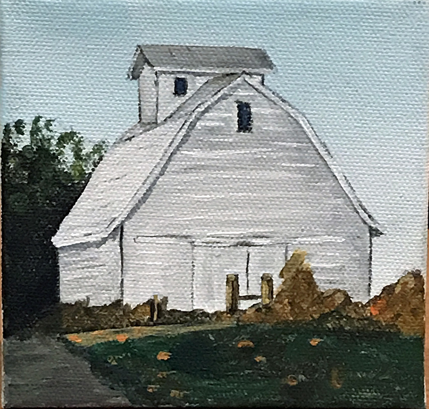 White Barn Iowa